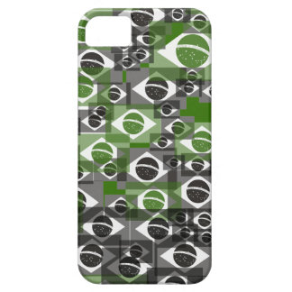 Brazilian flag pattern barely there iPhone 5 case