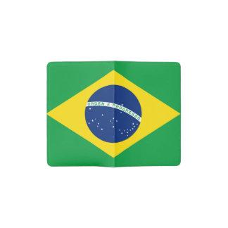 Brazilian flag pocket moleskine notebook