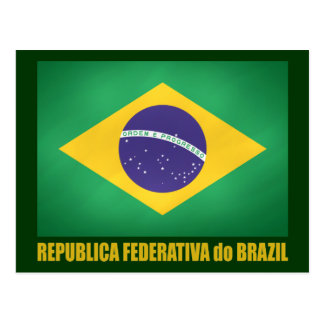 Brazilian Flag Postcard