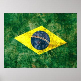 Brazilian Flag Posters