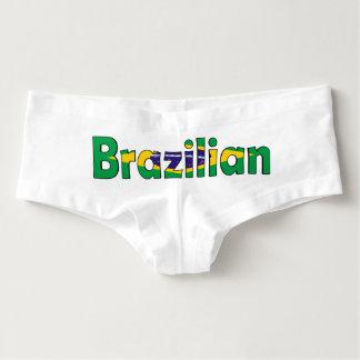 Brazilian Flag Underwear Hot Shorts