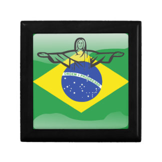 Brazilian glossy flag gift box