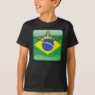 Brazilian glossy flag T-Shirt