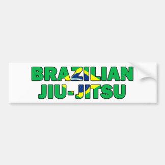 Brazilian Jiu-Jitsu 007 Bumper Sticker