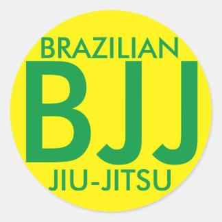 Brazilian JIu Jitsu BJJ STicker