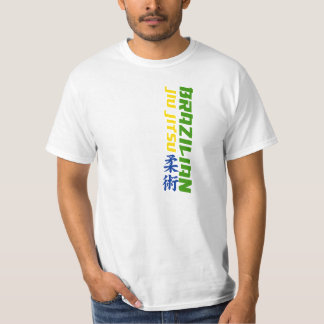 Brazilian Jiu Jitsu (BJJ) Tee with National Colors