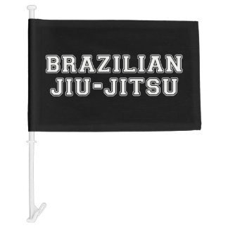 Brazilian Jiu Jitsu Car Flag