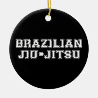 Brazilian Jiu Jitsu Christmas Ornament