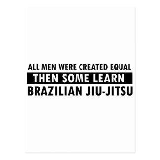 Brazilian Jiu Jitsu designs Postcard