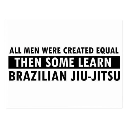Brazilian Jiu Jitsu designs Post Cards