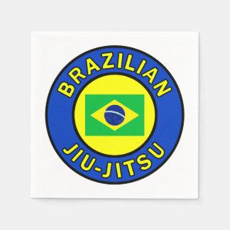 Brazilian Jiu-Jitsu Disposable Serviettes