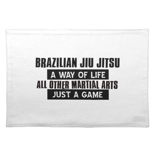 Brazilian Jiu Jitsu Gifts Place Mats