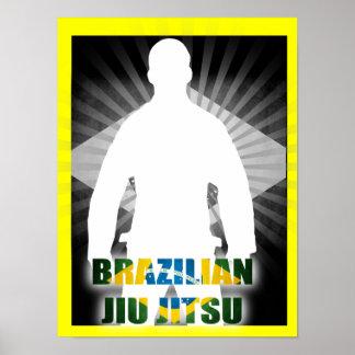 Brazilian Jiu Jitsu  Iconic Gi Poster