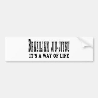 Brazilian Jiu-Jitsu It's way of life Bumper Sticker