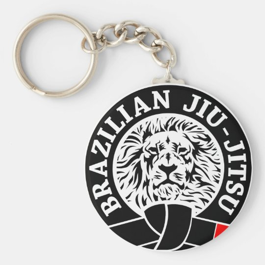 Brazilian Jiu-Jitsu (Key Chain) Key Ring
