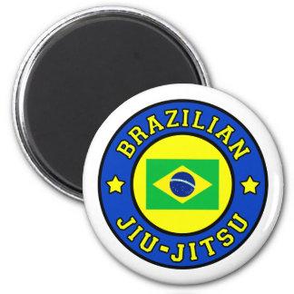 Brazilian Jiu-Jitsu 6 Cm Round Magnet