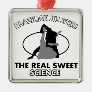 Brazilian Jiu Jitsu Martial arts Christmas Ornament