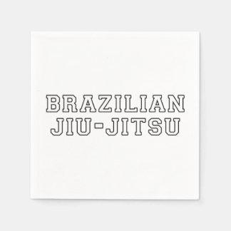 Brazilian Jiu Jitsu Paper Napkin
