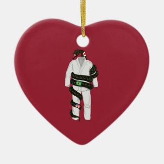 Brazilian Jiu Jitsu Snake Christmas Ornament