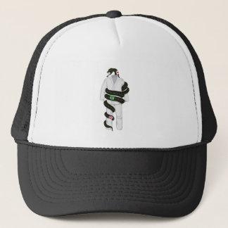Brazilian Jiu Jitsu Snake Trucker Hat