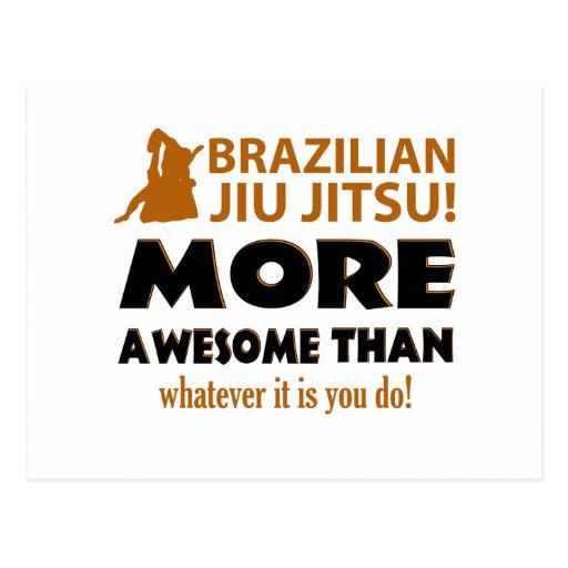 Brazilian Jiu Jutsu Martial arts gift items Post Card