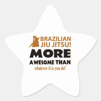 Brazilian Jiu Jutsu Martial arts gift items Stickers
