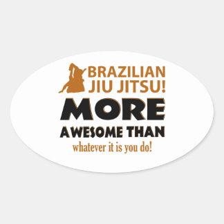 Brazilian Jiu Jutsu Martial arts gift items Sticker