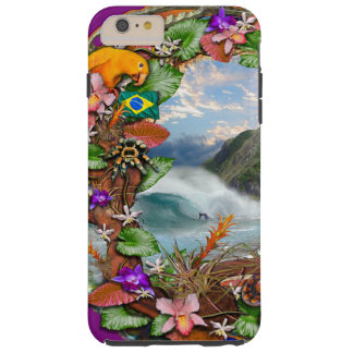 Brazilian Mist limited edition Tough iPhone 6 Plus Case
