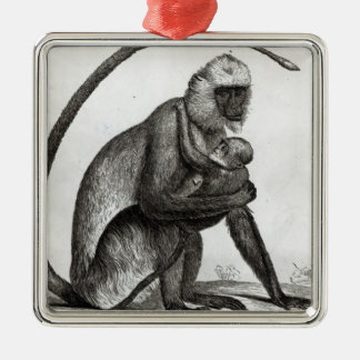 Brazilian Monkey Christmas Ornament
