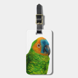 Brazilian Parrot Luggage Tag