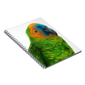 Brazilian Parrot Spiral Notebook