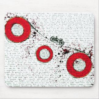 Brazilian poem mouse pads