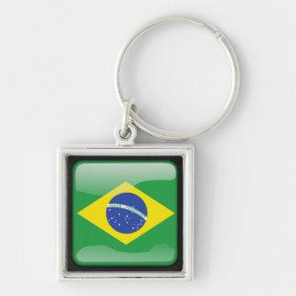 Brazilian polished key ring
