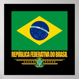 """""""Brazilian Pride"""" Posters"""