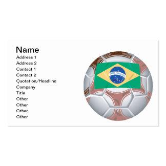 Brazilian Soccer Ball Business Cards