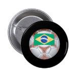 Brazilian Soccer Ball Pin