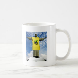 Brazilian Soccer Brazil Rio de Janeiro Coffee Mugs