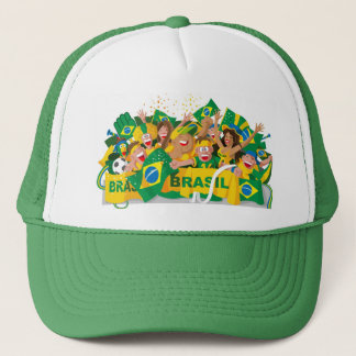 Brazilian soccer hat