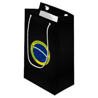 Brazilian state seal small gift bag