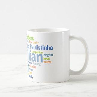 Brazilian Terrier Basic White Mug