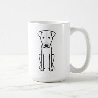Brazilian Terrier Dog Cartoon Basic White Mug