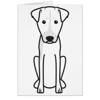 Brazilian Terrier Dog Cartoon Greeting Card