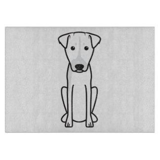 Brazilian Terrier Dog Cartoon Cutting Board