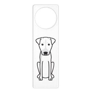 Brazilian Terrier Dog Cartoon Door Knob Hanger