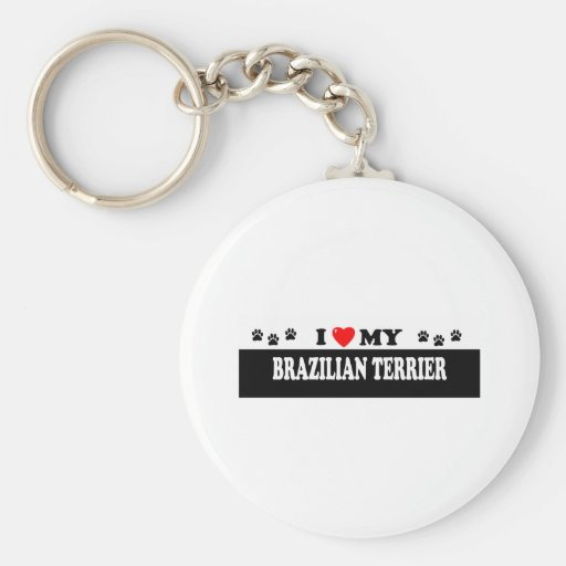 BRAZILIAN TERRIER KEY CHAIN