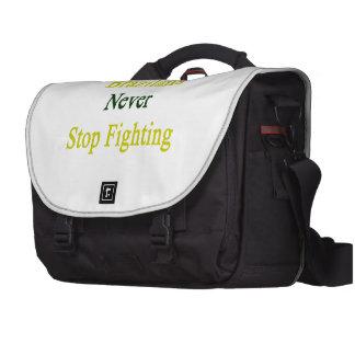 Brazilians Never Stop Fighting Bag For Laptop