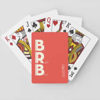 BRB PLAYING CARDS