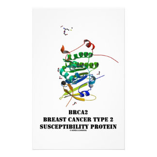 BRCA2 Breast Cancer Type 2 Susceptibility Protein Stationery Paper