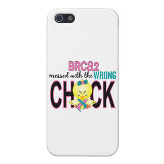 BRCA2 Messed With Wrong Chick iPhone 5 Cover