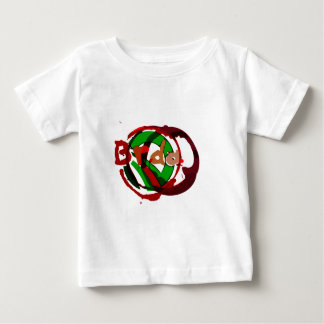 Brda wineyards and wine stain 2 baby T-Shirt
